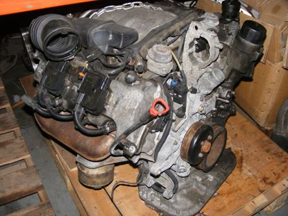 Picture of E320,CLK320 engine, M112