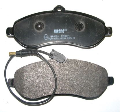 Picture of BRAKE PAD SET, Fiat,Citroen,Peugeot, FVR771