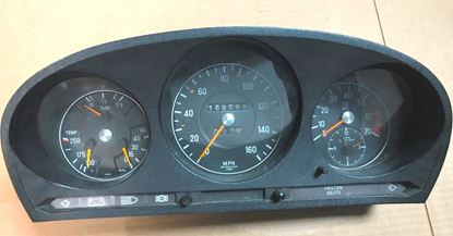 Picture of Mercedes 450sel 6.9 instruments