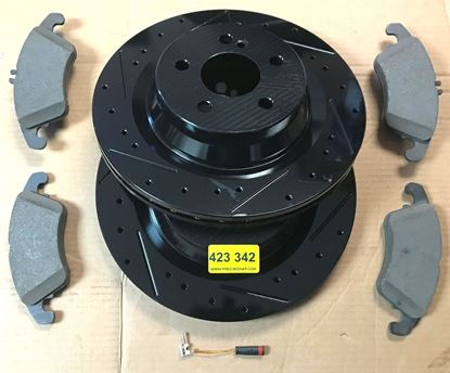 Picture of Mercedes brake set,W204/207/212  423 343
