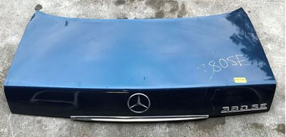 Picture of Mercedes 300,380,420,560 W126 SEDAN TRUNK LID 1267501975