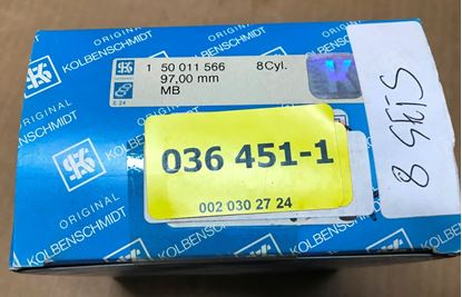 Picture of Piston ring set, 5.0/5.6 M117/M119 0020302824